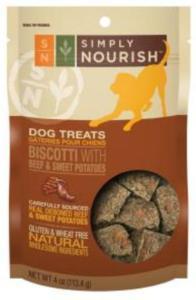 simply nourish biscotti recall petsmart