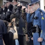 2 Hero Police Dogs Receive Heartwarming Final Salutes