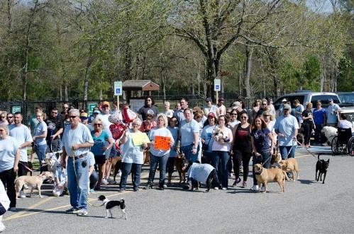 protest walk for diesel houston dog park