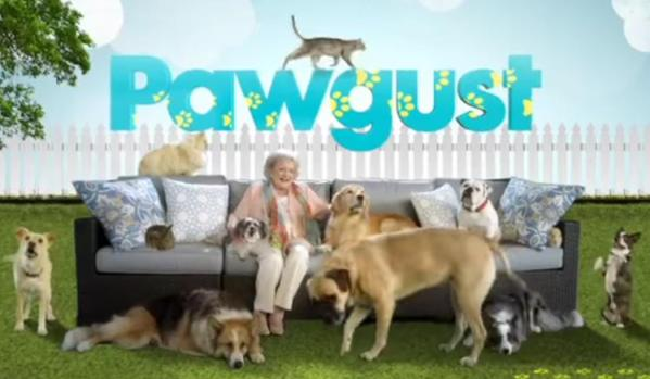 Pawgust with Betty White