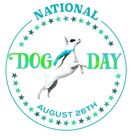 National Dog Day logo