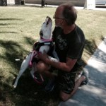 Homeless Veteran with Terminal Cancer Reunited with Missing Service Dog
