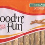 RECALL ALERT: Good 'n' Fun Beefhide Chicken Sticks
