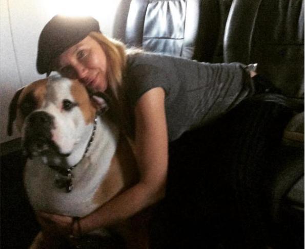 big dog Hank and Kari Whitman