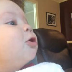 Aww: Baby Howls along with Dogs [Video]