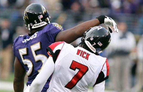Michael Vick Falcons