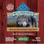 RECALL ALERT: Blue Buffalo BLUE Wilderness Rocky Mountain Recipe Red Meat Dinner