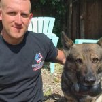 Fast-Acting Police Officer Saves His K-9 Partner's Life